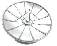 Riflettore parabolico con il percorso di ritaglio Fotografie Stock