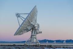Riflettore parabolico ed antenna Fotografia Stock Libera da Diritti