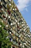 Riflettori parabolici a Berlino Fotografie Stock Libere da Diritti