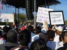 Riforma di immigrazione Fotografie Stock Libere da Diritti