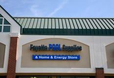 Rifornimenti dello stagno di Fayette fotografia stock libera da diritti