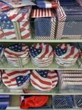 Rifornimenti di festa dell'indipendenza Fotografia Stock