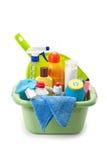 rifornimenti di pulizia Immagini Stock