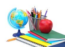 Rifornimenti di scuola immagine stock libera da diritti