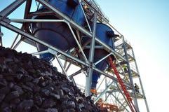 Rifornimento del carbone Fotografie Stock