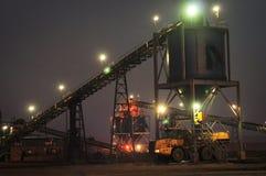 Rifornimento del carbone Fotografie Stock Libere da Diritti