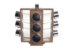Rifornimento dello scaffale di spezia - immagine di riserva fotografia stock libera da diritti