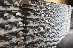 Rifornimento di alluminio Fotografia Stock