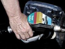 Rifornimento di carburante fotografia stock