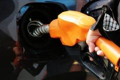 Rifornimento di carburante Fotografie Stock