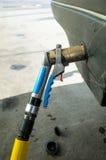 Rifornimento di carburante del gas Immagine Stock Libera da Diritti
