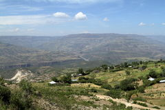 Rift Valley of Ethiopia in Africa Stock Images