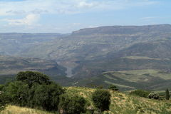 Rift Valley of Ethiopia in Africa Royalty Free Stock Photo