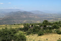 Rift Valley of Ethiopia in Africa Stock Image