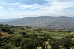 Rift Valley of Ethiopia in Africa Stock Photo