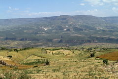 Rift Valley of Ethiopia in Africa Royalty Free Stock Image