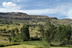 Rift Valley of Ethiopia in Africa Royalty Free Stock Images