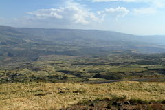 Rift Valley of Ethiopia in Africa Royalty Free Stock Photos