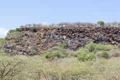 Rift Valley falezy, Kenja Fotografia Royalty Free
