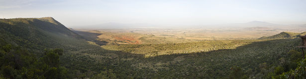 Rift Valley Panorama, Kenya Stock Images