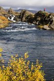 Rift valley -Thingvellar - Iceland Stock Photography