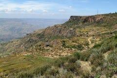 Rift Valley van Ethiopië in Afrika royalty-vrije stock fotografie