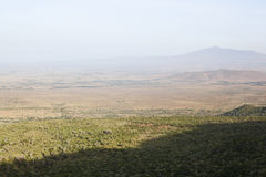 Rift Valley View, Kenya Stock Image
