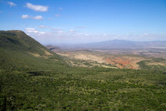 Rift vally view. Rift valley view from nairobi hill Royalty Free Stock Photography