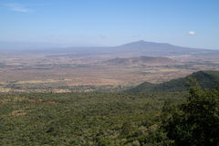 Rift vally view. Rift valley view from nairobi hill Royalty Free Stock Photos
