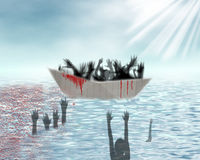 rifugiati Fotografia Stock Libera da Diritti