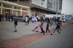 rifugiati Fotografie Stock