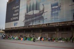 rifugiati Fotografia Stock