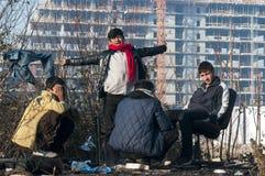 rifugiato Fotografia Stock