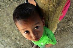 Rifugiato del bambino Fotografia Stock