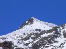 Rifugio alpino Immagine Stock