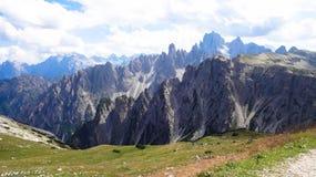 Rifugio Auronzo, Dolomit - Tre Cime di Lavaredo Lizenzfreie Stockfotografie