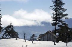 Rifugio della montagna Fotografia Stock Libera da Diritti