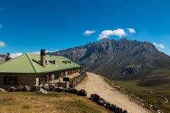 Rifugio di Aliva nel parco nazionale dell'europa di Picos da Fotografie Stock Libere da Diritti