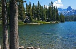 Rifugio di Mamie del lago Fotografie Stock