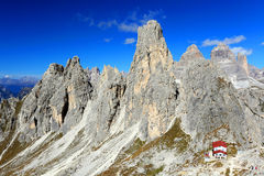 Rifugio Fonda Savio Royalty Free Stock Photography