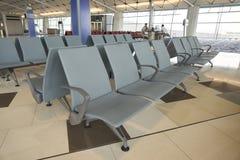 Rifugio nel portone dell'aeroporto all'aeroporto internazionale di Hong Kong Immagine Stock