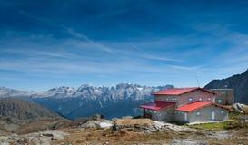 Rifugio Segantini - Dolomites Stock Photography