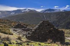 Rifugio in Sierra Nevada Immagini Stock