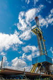 Rig for drilling oil and gas wells Royalty Free Stock Photo