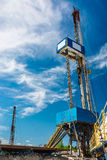Rig for drilling oil and gas wells Stock Image