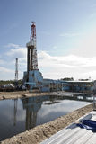 Rig for drilling of well Royalty Free Stock Photo