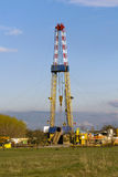 Rig of the forest edge, research station. Royalty Free Stock Images