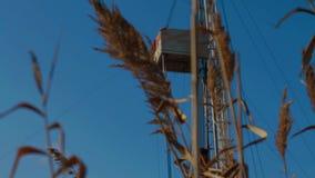 Rig Oil Industry di perforazione archivi video