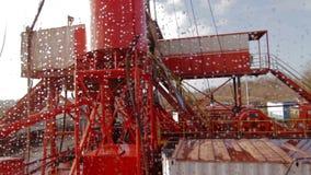 Rig Oil Industry di perforazione video d archivio
