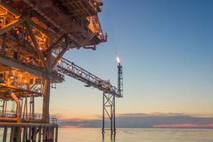 Rig platform. Of oil and gas industry Stock Images